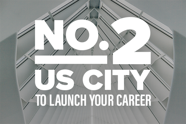 No. 2 US City to Launch Your Career