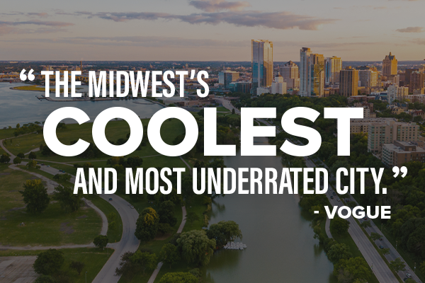"""""""The Midwest's Coolest & Most Underrated City""""  -Vogue Magazine"""