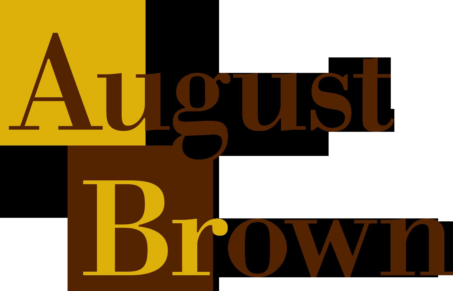 August Brown Logo